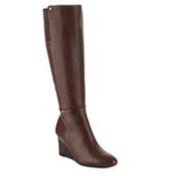 Ralph Lauren Shoes   Tall Wedge Boots